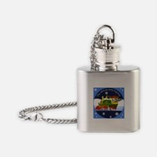 African Grey Express Flask Necklace