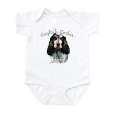 English Cocker Mom2 Infant Bodysuit