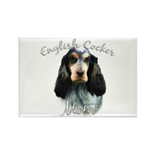 English Cocker Mom2 Rectangle Magnet