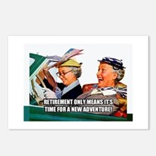 Retirement Adventure Postcards (Package of 8)