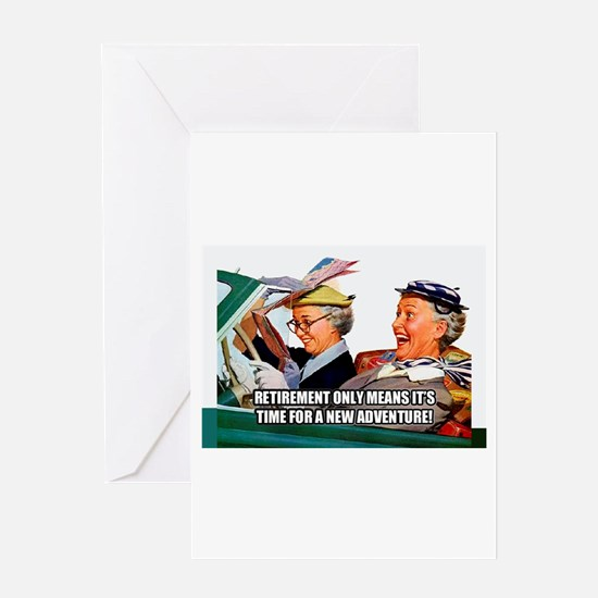 Retirement Adventure Greeting Cards
