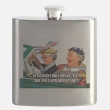 Retirement Adventure Flask