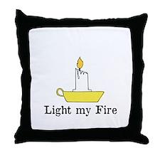 Light my Fire, The Doors Throw Pillow