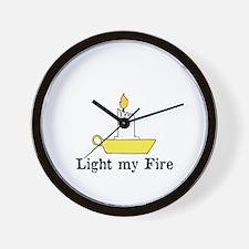 Light my Fire, The Doors Wall Clock