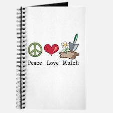 Peace Love Mulch Gardening Journal
