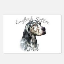 English Setter Dad2 Postcards (Package of 8)