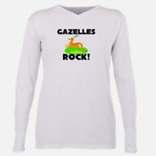 Cute Little rock Plus Size Long Sleeve Tee