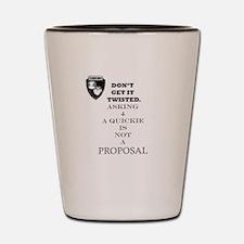 Unique Proposal Shot Glass