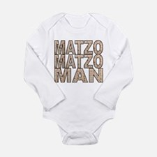 Funny hanukkah Long Sleeve Infant Bodysuit