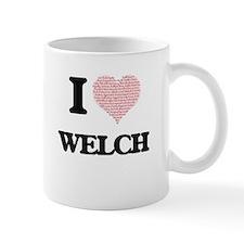 I Love Welch Mugs