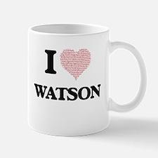 I Love Watson Mugs