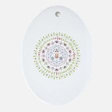 Cute Alchemy Oval Ornament