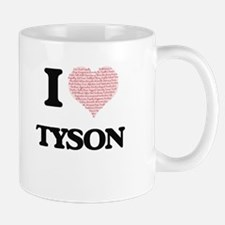 I Love Tyson Mugs