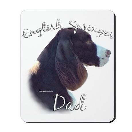 English Springer Dad2 Mousepad