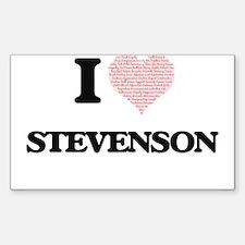 I Love Stevenson Decal