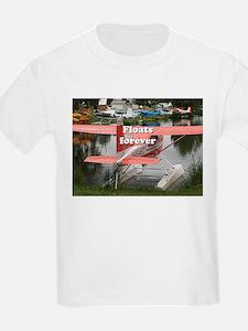 Floats forever: float plane 23, Alaska T-Shirt