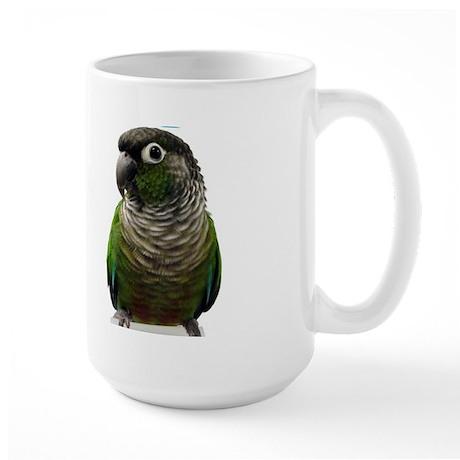 Green-Cheeked Conure - Large Mug