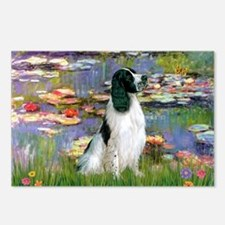 Monet's Lilies & English Spri Postcards (Package o