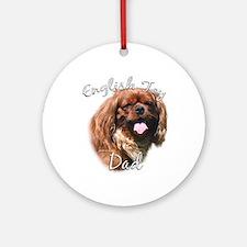 English Toy Dad2 Ornament (Round)