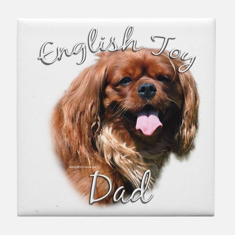 English Toy Dad2 Tile Coaster