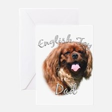English Toy Dad2 Greeting Card