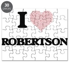 I Love Robertson Puzzle