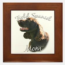 Field Spaniel Mom2 Framed Tile