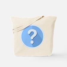 Question Mark Icon Tote Bag