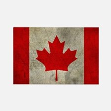 Cute Canadian flag Rectangle Magnet