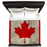 Canadian maple leaf King Duvet Covers