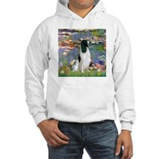 Monet's Lilies & English Spri Hoodie