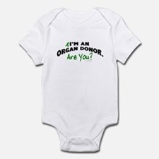 I'm An Organ Donor 1 Infant Bodysuit
