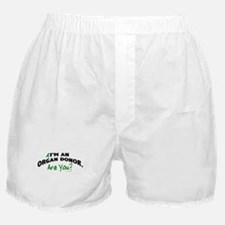 I'm An Organ Donor 1 Boxer Shorts