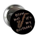 birthday horn blow me Button