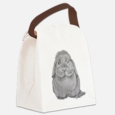 Holland Lop by Karla Hetzler Canvas Lunch Bag