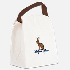 Belgian Hare Canvas Lunch Bag
