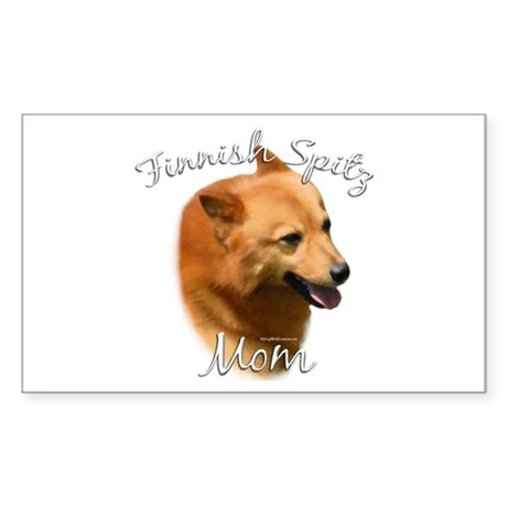 Spitz Mom2 Rectangle Sticker