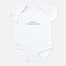Support Sustainability Infant Bodysuit