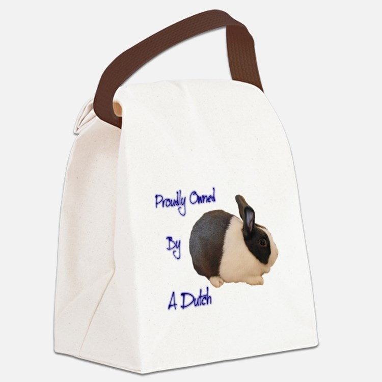 Owned By A Dutch Canvas Lunch Bag