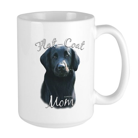 Flat-Coat Mom2 Large Mug