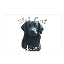 Flat-Coat Mom2 Postcards (Package of 8)