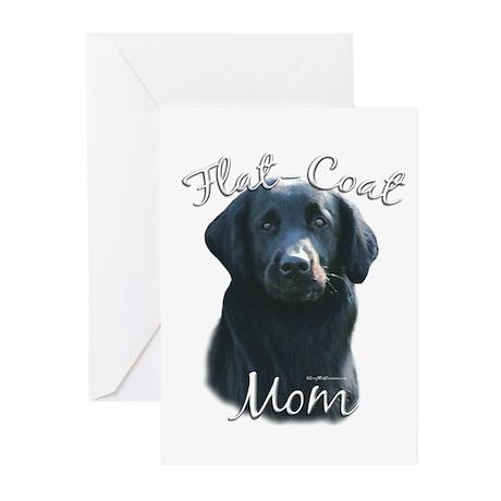 Flat-Coat Mom2 Greeting Cards (Pk of 10)
