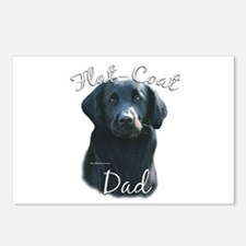 Flat-Coat Dad2 Postcards (Package of 8)