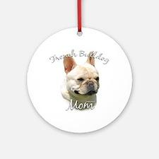 Frenchie Mom2 Ornament (Round)