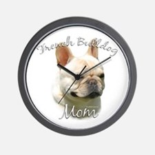 Frenchie Mom2 Wall Clock