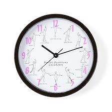 Ballet Studio Wall Clock