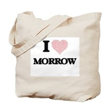 I Love Morrow Tote Bag
