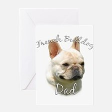Frenchie Dad2 Greeting Card