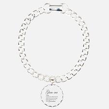 Glam-ma Grandma Hand lettered art Bracelet