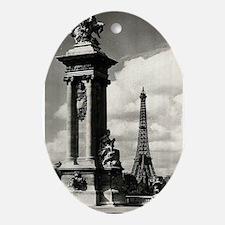 Alexander III Bridge Oval Ornament